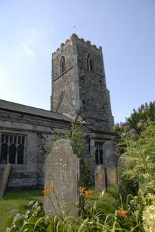 Free Village Church In Burstwick. Royalty Free Stock Photography - 15595007