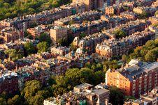 Free Boston Neighborhood Royalty Free Stock Images - 15595309