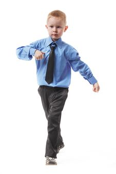 Free The Little Boy Stock Photo - 15596120
