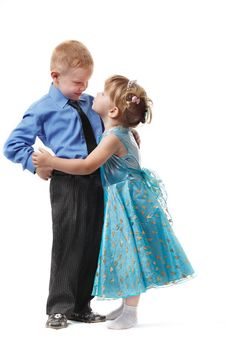 Free The Little Boy And The Girl Stock Photo - 15596200