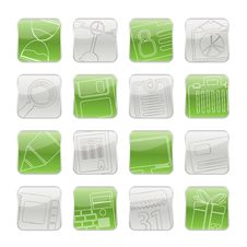 Free Business And Office Icons Stock Image - 15596571