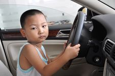 Free Boy Driving Royalty Free Stock Images - 15597929
