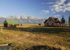 Free Wyoming Landscape Stock Photo - 15598450