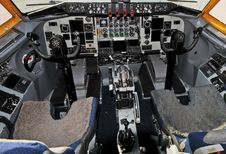 Free Airplane Cockpit Stock Photo - 15598690