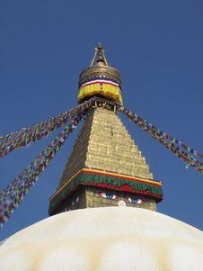 Free Eye Of Buddha The Bodnath Stupa Temple Stock Photos - 15598783