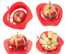 Free Red Apple And Special Knife Stock Images - 15599154