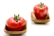 Tomato And Paprika Royalty Free Stock Photos