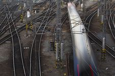 Free Complicated Rail Network Stock Photos - 15599843