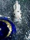 Free Rabbit And Blue Ball Royalty Free Stock Photos - 1563258