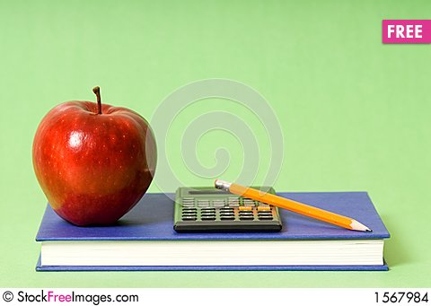 Free School Supplies Stock Images - 1567984