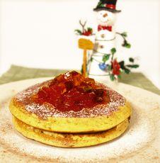 Free Pancakes Royalty Free Stock Images - 1560039