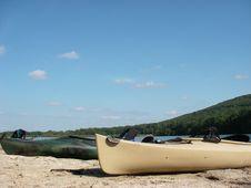 Kayak Outing Stock Photo