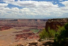 Free Dead Horse Point 2 Royalty Free Stock Image - 1560666