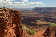 Free Dead Horse Point State Park 3 Stock Image - 1560681