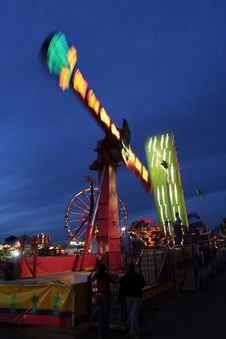Free Fair Ride Stock Photography - 1560992