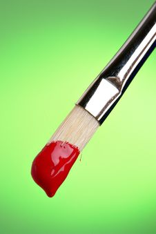 Free Painting In Red Royalty Free Stock Image - 1561006