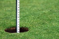 Free Golf Hole Royalty Free Stock Photo - 1561505