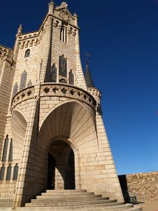 Free Astorga Episcopal Palace Royalty Free Stock Photography - 1561577