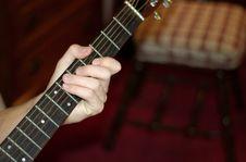 Free Guitar Man Stock Image - 1561621