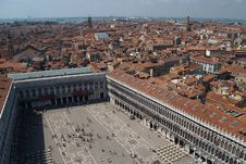 Free An Aerial View Of Venice City 2 Stock Photos - 1562733