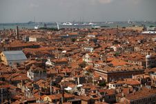 Free An Aerial View Of Venice City From Bell Tower Royalty Free Stock Photo - 1562755