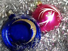 Free Blue And Red Balls Royalty Free Stock Photos - 1563138