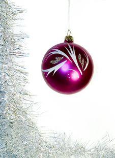 Free Purple Glass Ball Stock Photography - 1563242