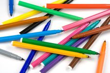 Free Color Pencils Royalty Free Stock Photos - 1563378