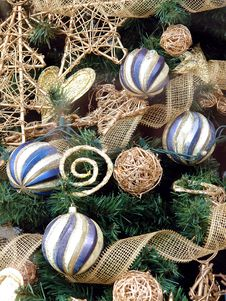 Free Christmas Tree Closeup Royalty Free Stock Photography - 1564107