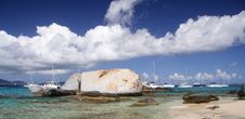 Free Granite Beach Stock Photography - 1564382