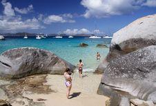 Free Granite Beach Stock Photos - 1564683