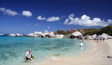 Granite Beach Stock Images