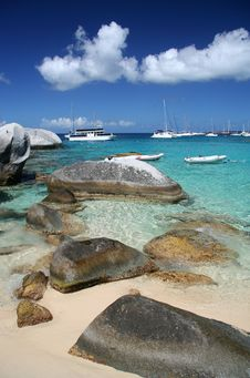 Granite Beach Royalty Free Stock Photos