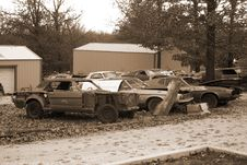 Free Automobile Salvage Yard Stock Image - 1565181