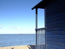 Free Beach Hut 02 Royalty Free Stock Photography - 1566027