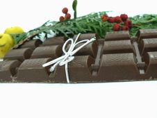 Free Chriastmas Chocolate Royalty Free Stock Photo - 1566445