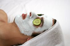 Free Cleansing Mask II Stock Image - 1566571