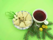 Free Christmas Food Royalty Free Stock Photography - 1566617