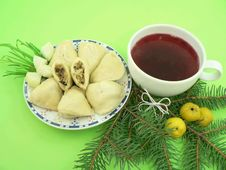 Free Christmas Food Stock Images - 1566624