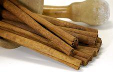 Free Cinnamon Royalty Free Stock Image - 1566626