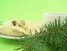 Free Christmas Food Stock Photo - 1566630