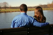 Free Loving Pair Enjoying Each Other S Company Stock Photography - 1566792