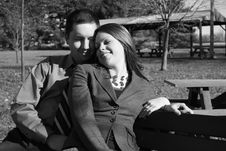 Free Loving Pair Enjoying Each Other S Company Royalty Free Stock Photos - 1566818