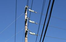 Free Electric Utility Pole Stock Photos - 1567943