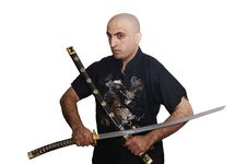 Free The Man With Sword Royalty Free Stock Photography - 1567977
