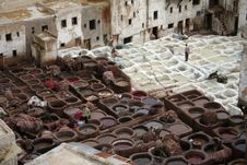Free Fes Tanneries 3 Royalty Free Stock Photo - 1567995