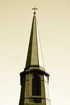Free Holy Church Steeple Royalty Free Stock Image - 1568776