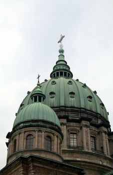 Domed Roof Cathedral Royalty Free Stock Photos