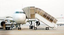 Free Jet Plane Landed4 Stock Photo - 1569180