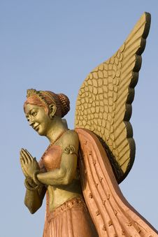 Statue Of An Angel Stock Photos